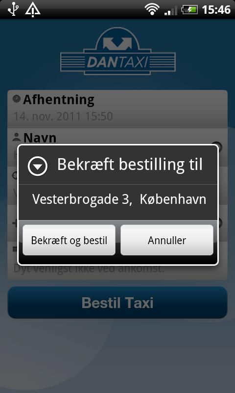 DanTaxi- screenshot