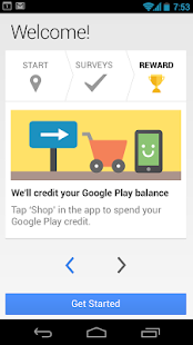 Google Opinion Rewards - screenshot thumbnail