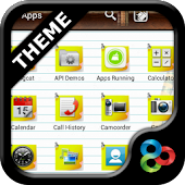 Notebook GO Launcher EX Theme