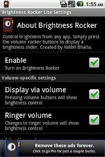 Brightness Rocker Lite - screenshot thumbnail