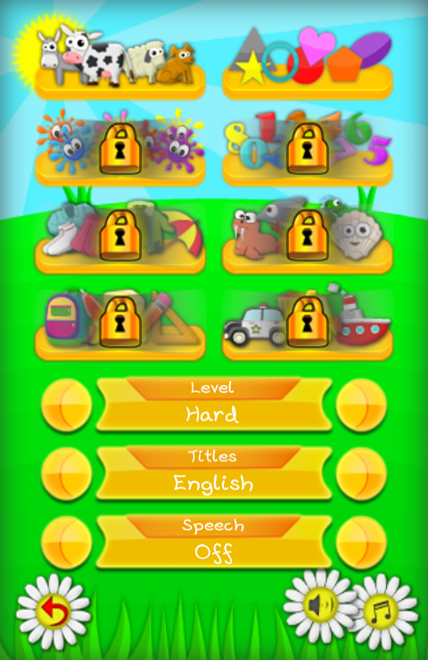 Memo Game - Kids learn English - screenshot