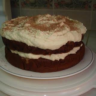 Chocolate Tiramisu Cake.