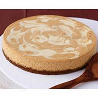 PHILADELPHIA Pumpkin Swirl Cheesecake.