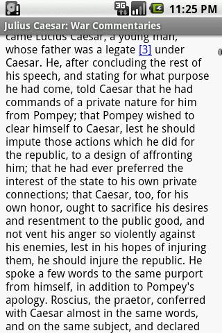 Julius Caesar:War Commentaries- screenshot