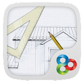 Pencil Sketch Launcher Theme