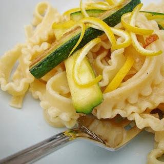 Lemon, Courgette and Mascarpone Tripoline Recipe