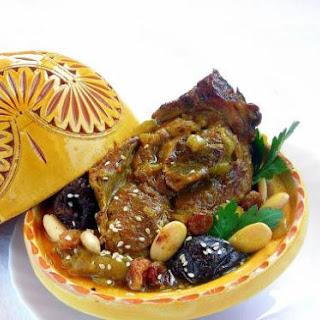 Moroccan Lamb Tajine - pressure cooker.
