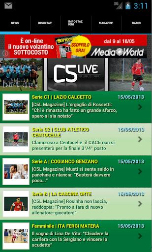 CalcioA5Live