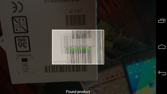 Barcode Shoppers App on target screenshot 3