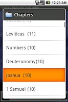 Screenshot of Verses from Holy Bible (Full)