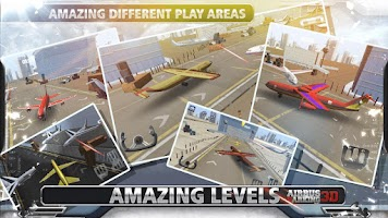 Screenshot of AIRBUS PARKING 3D