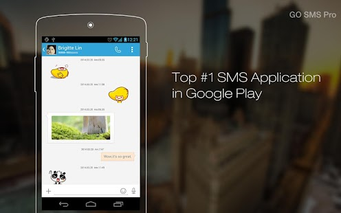GO SMS Pro - screenshot thumbnail