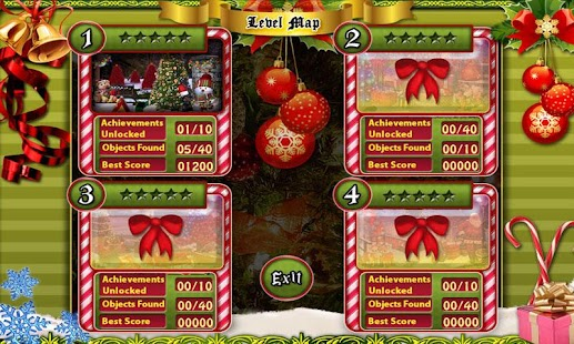 # 241 New Free Hidden Object Games Merry Christmas - náhled
