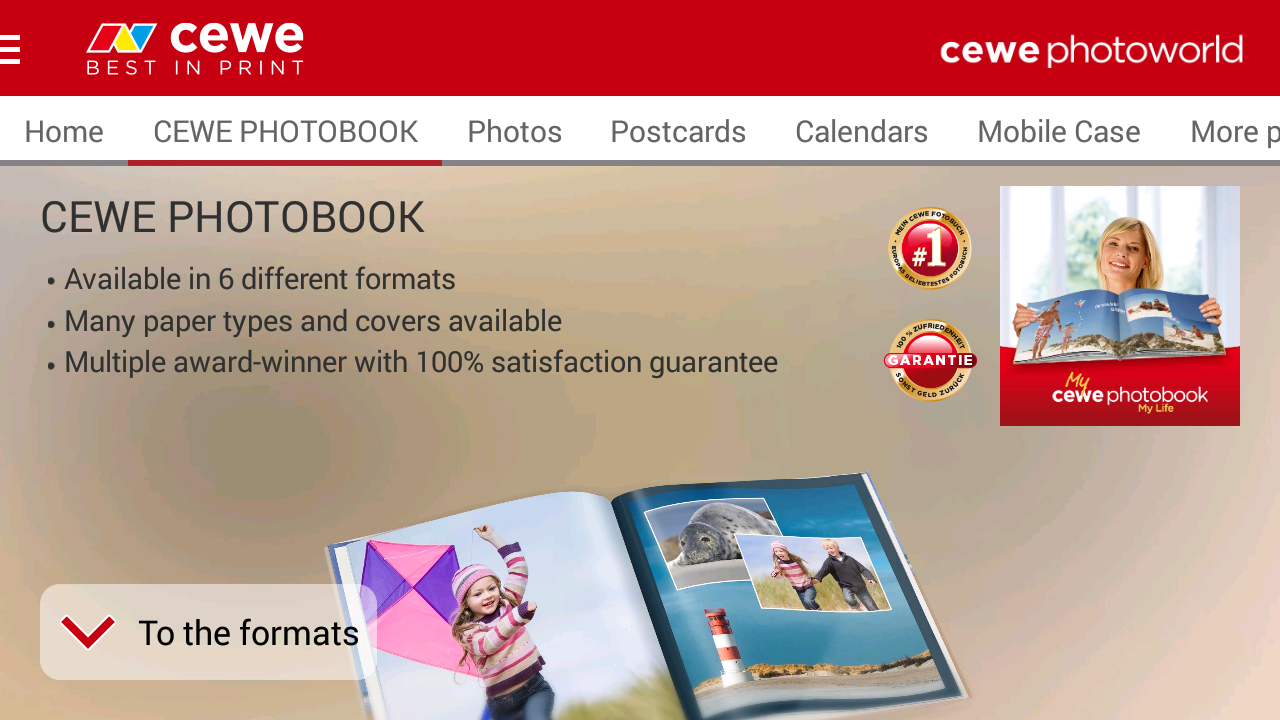 Photo Books by CEWE  - No.1- screenshot