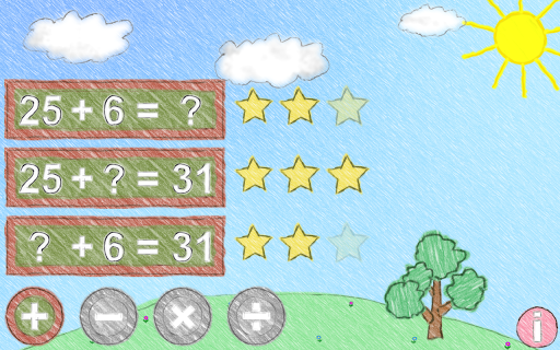 Math up to 100 Apps for Android screenshot