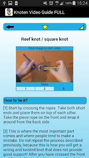 Knot Video Guide FULL- screenshot thumbnail