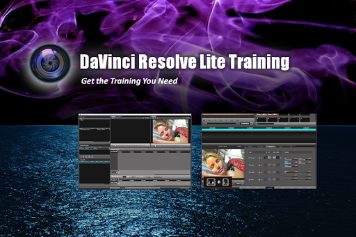 Training DaVinci Resolve Lite