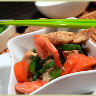 Lemongrass Chicken Shrimp
