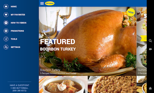 Butterball Cookbook Plus- screenshot thumbnail