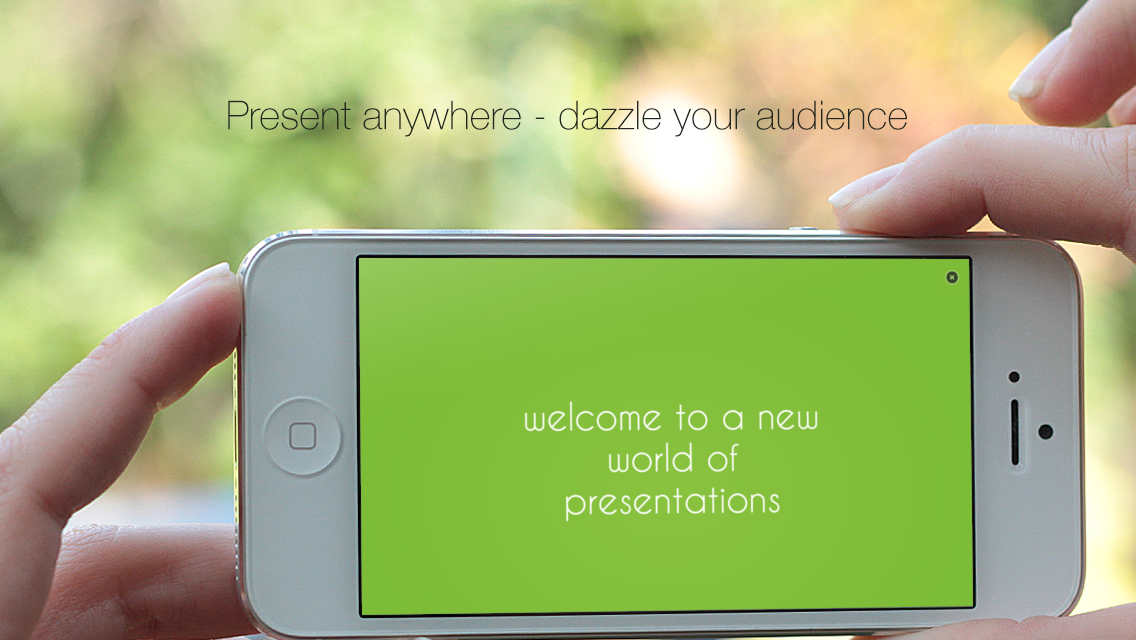 deck one-touch presentations - screenshot