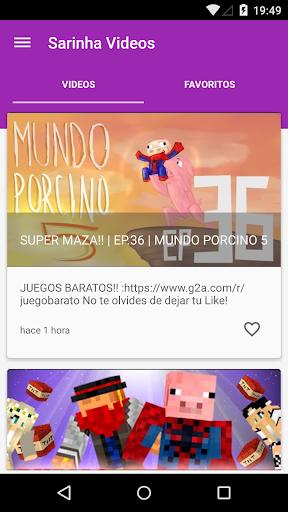 Sarinha Youtuber Videos