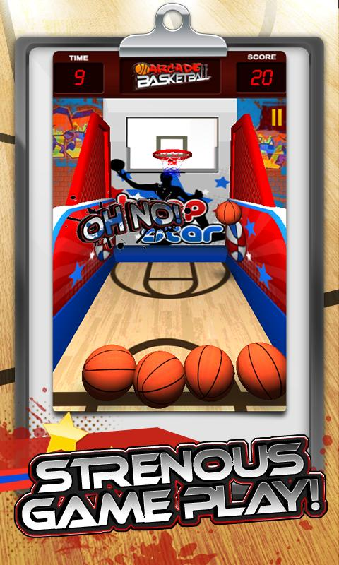 Super Arcade Basketball - screenshot