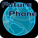 Future Phone Blue Theme Free icon