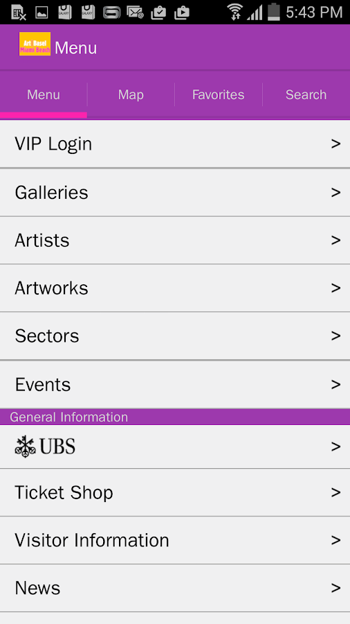 Art Basel in Miami Beach - screenshot