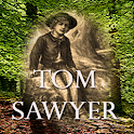 Tom Sawyer – Mark Twain logo