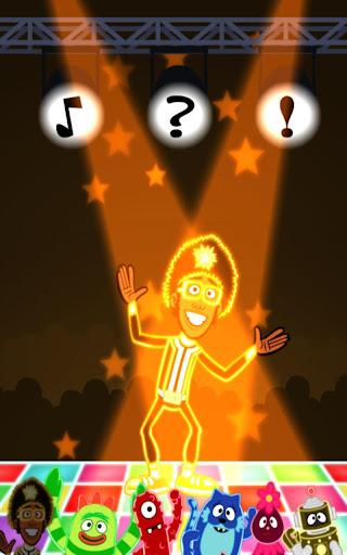 Yo Gabba Gabba Glow Dancing