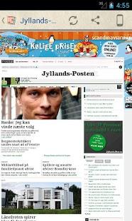 Danske Aviser- screenshot thumbnail