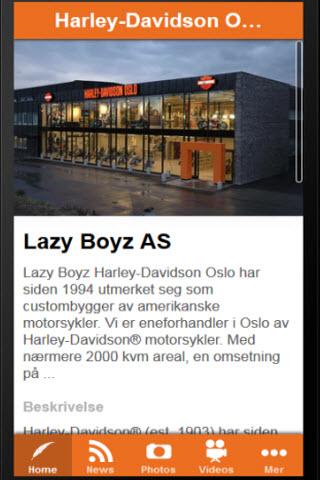 Lazy Boyz Harley-Davidson Oslo