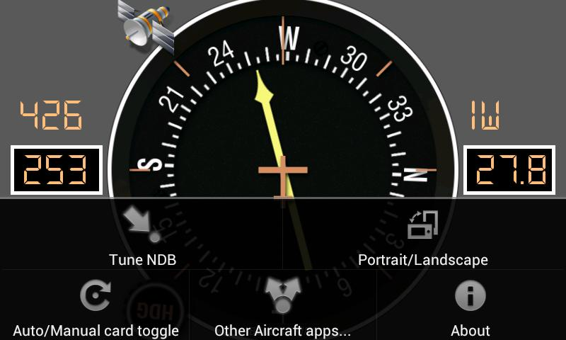 Aircraft ADF- screenshot