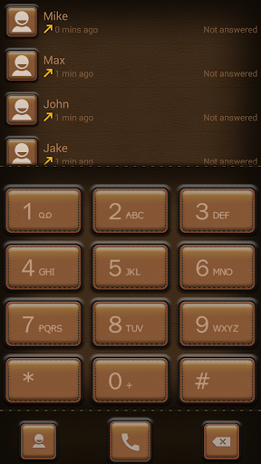 ExDialer Leather Theme