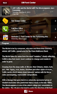 UM Gertrude C. Ford Center - screenshot thumbnail