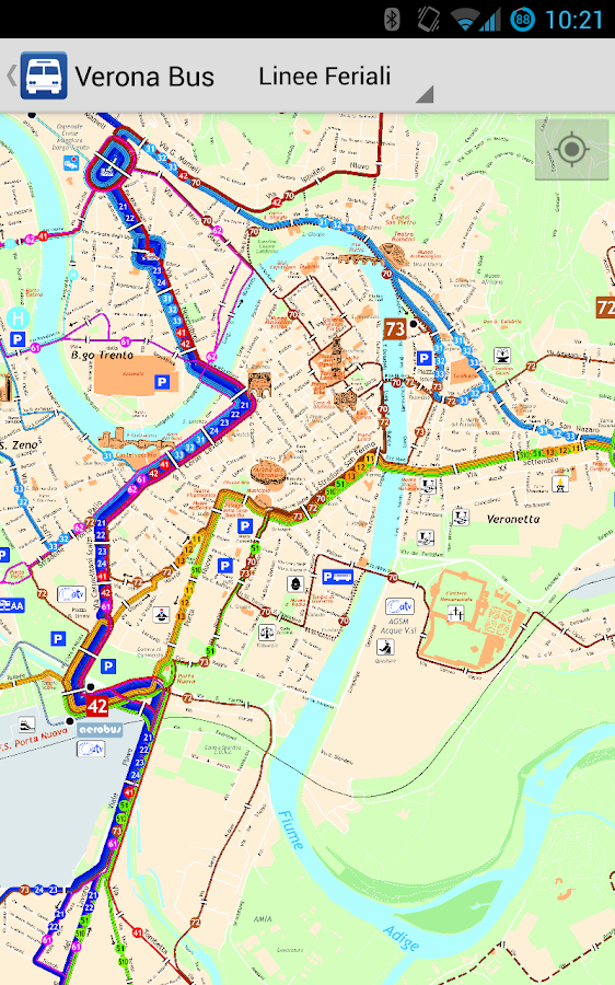 Verona Bus - screenshot