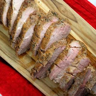 Sweet and Spicy Pork Tenderloin.