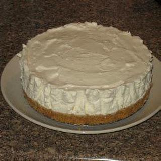 Reevo's Simple Cheesecake.