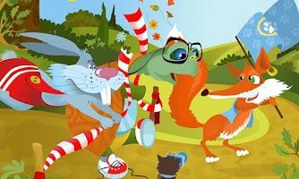 Screenshot of The Tortoise & Hare Storybook