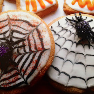Haunted Spider Cookies