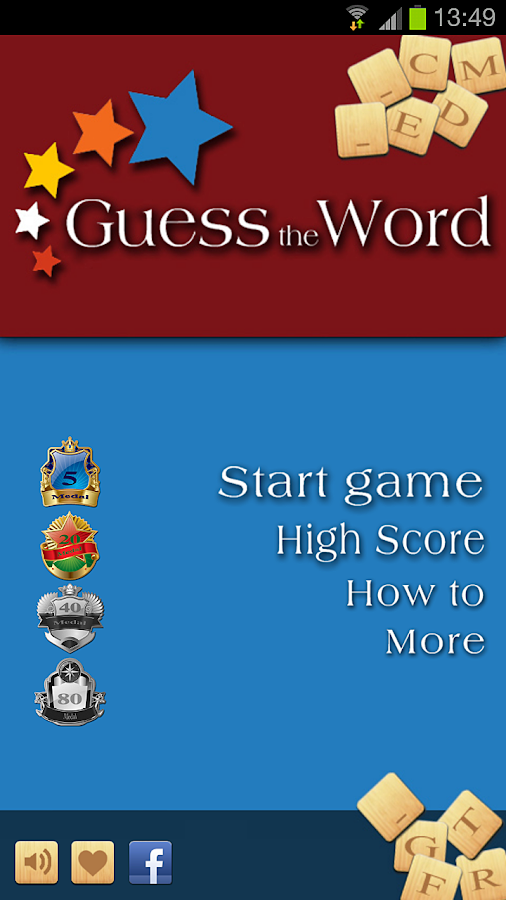 Guess the Word ™ FULL VERSION - screenshot