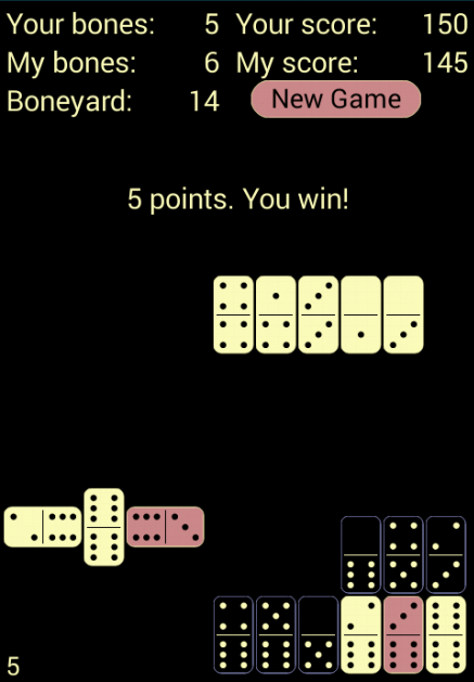 Electrum Dominoes- screenshot