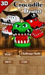 鱷魚拔牙齒 3D
