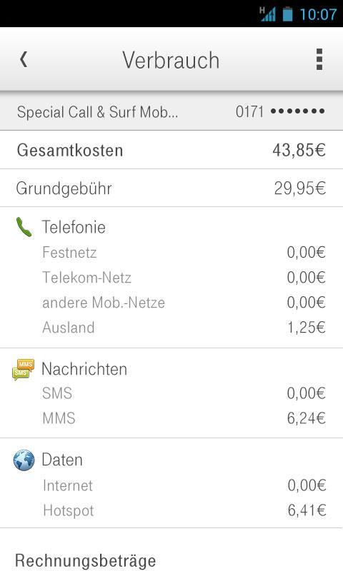 Kundencenter - screenshot