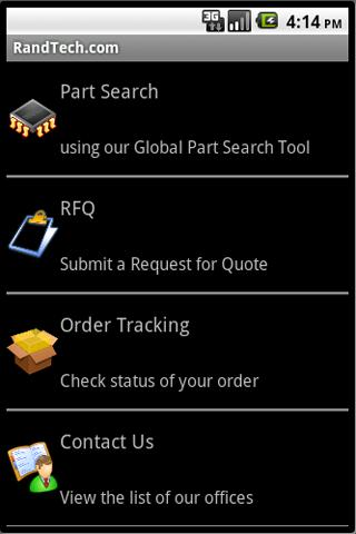 Rand Technology- screenshot