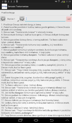 Lithuanian Bible