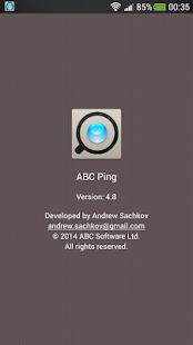 ABC Ping screenshot