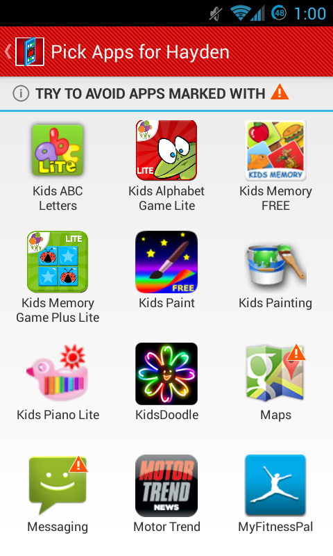 Kids Zone Child Lock Pro Ver. - screenshot