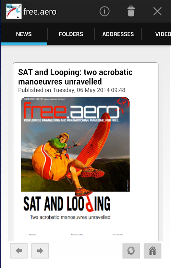 free.aero flying magazine- screenshot