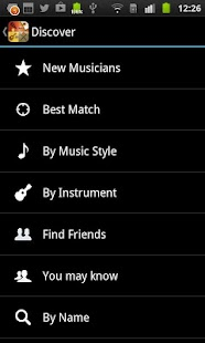 BandFriend - Musicians Network - screenshot thumbnail